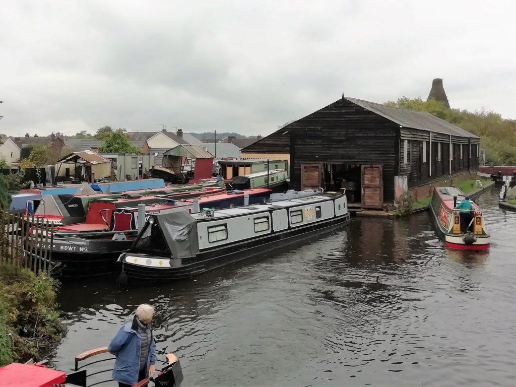 Cadburys Cadbury Factory Bournville Canal Boat Blank Birthday Fathers Day Card